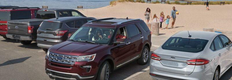 đỗ xe ford explorer