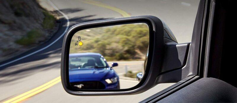 cảnh báo điểm mù trên ford explorer