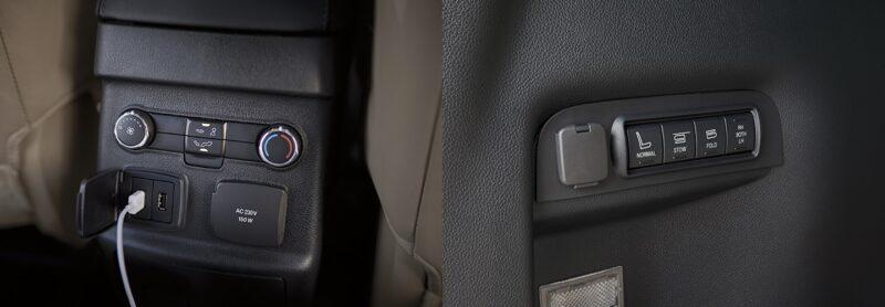cổng sạc smartphone ford explorer