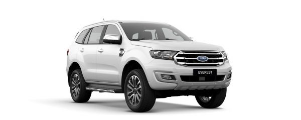 ford everes trắng